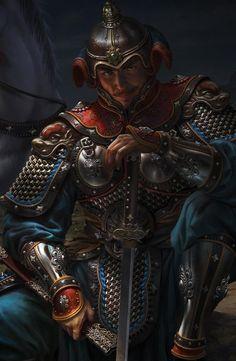 Armor All, Arm Armor, Brigantine Armor, Chinese Armor, The Han Dynasty, Dynasty Warriors, Sea Dragon, Fantasy Paintings, Historical Art