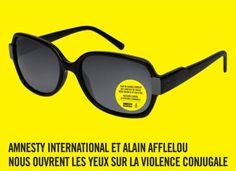 Amnesty International x Alain Afflelou, open the eyes on domestic violence