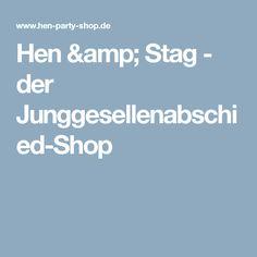 Hen & Stag - der Junggesellenabschied-Shop