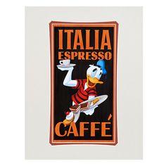 '' Espresso #Donald #Duck '' Art Print by Brian Blackmore   Posters & Prints   #Disney Store @Erik Naville