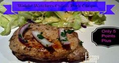 Weight Watchers Cuban Pork Chops!Quick and Easy!