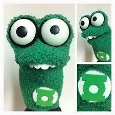 superhero sock puppets