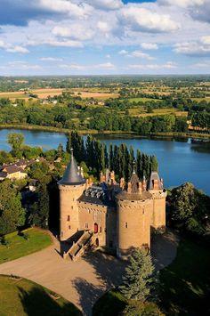 Château de Combourg  Castle  Ille-et-Vilaine département of Brittany, France. - http://www.inblogg.com/chateau-de-combourg-castle-ille-et-vilaine-departement-of-brittany-france/