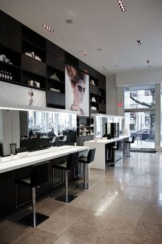 Blanche Macdonald's Beauty store, CurliQue Beauty in Vancouver BC