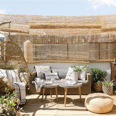 Sácale el máximo partido a tu terraza conesta genial idea para decorar terrazas. #decoración #terrazas