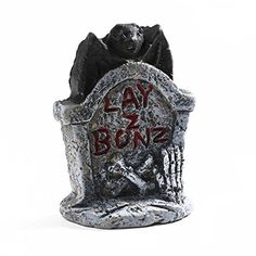 Factory Direct Craft Pair of Miniature Resin Lay Z Bonz Tombstones for Party Decor, Favors, and Crafting #Factory #Direct #Craft #Pair #Miniature #Resin #Bonz #Tombstones #Party #Decor, #Favors, #Crafting
