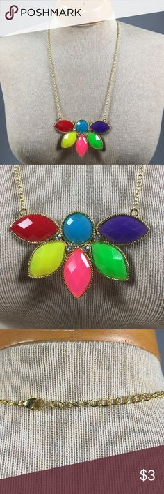 Colorful Necklace Fashion Jewelry - The hang length is 9 inches and 2 1/2 inches 💞 BUNDLE 3 OR MORE ITEMS TO SAVE 20%💞 Any questions let me know. Jewelry Necklaces
