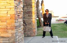 WHAT I WORE: Exaggerated Shoulders - Live Life in Style - Houston Fashion Blogger