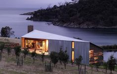 Shearers' Quarters, Bruny Island, by John Wardle Architects. Via www.architectural-review.com