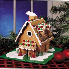 Christmas Gingerbread House Recipe -Making a gingerbread house is a favorite tradition for my family during the holidays. We look forward to it every year. —A. Ruth Witmer, Stevens, Pennsylvania