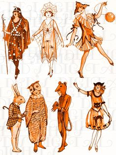 1920s Halloween Costume, Halloween Vintage, Halloween Kostüm, Creative Halloween Costumes, Halloween Cupcakes, Art Costume, Halloween Plates, Devil Costume, Vintage Witch