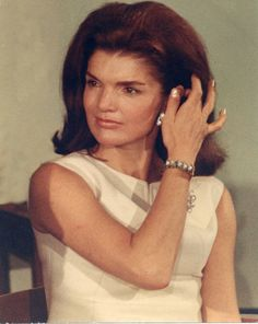 Jackie Kennedy.  So beautiful & such a classy lady.