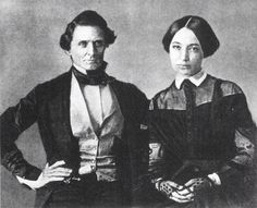 The President of the Confederacy Jefferson Davis and his wife Varina Howell Davis....was she the Louisiana native mixed race Black?