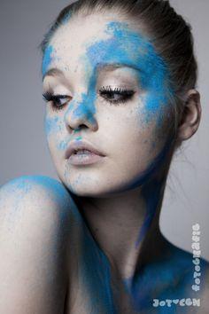 holi powder beauty shoot http://facebook.com/jotcehfotografie