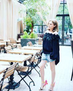 JOLIEGAZETTE Founder, Juliet Belkin for Mercedes Benz Fashion Week Russia #Juliet #MayaOm