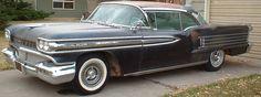 1958 Oldsmobile Ninty Eight 98  Holiday 2 door hardtop