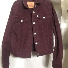 1ae4f07acf115f Brand new Levi s burgundy jean jacket Could fit an xs-s FREE SHIPPING ALL  ITEMS