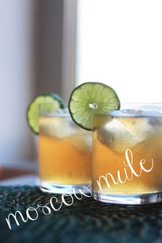 Moscow Mule. My favorite drink. Oh so good!