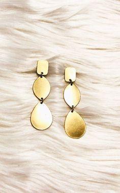 09868b151b33 Drop It Like It s Hot Gold Earrings Diamond Earrings