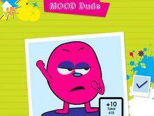 Mood Dude: Manipulate Mood Dude to show how you are feeling (iPad App- Feel Electric!)