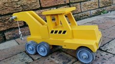 Tow Truck. Find it at Spannerz Wooden Toys, Cape Town, South Africa. www.spannerz.co.za