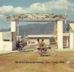 """September 15, 1966     The 5th Special Forces Group (Airborne) establishes the Military Assistance Command, Vietnam, Recondo School at Nha Trang (""""recondo"""" is derived from 'reconnaissance,' 'doughboy,' and 'commando,' and the term had been used by the 101st Airborne Division recondo school under Gen. Westmoreland's command in 1958-60). All students have to be volunteers, possess a combat MOS, be in excellent physical condition, have been in Vietnam at least one month and have six months reta"""