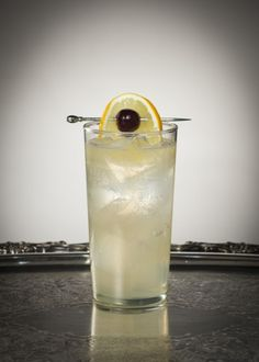 Rob Collins 2 parts Bombay Sapphire Gin 1 part St-Germain 3/4 part Lemon Juice Top with Club Soda