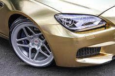 textured-gold-bmw-m6-on-vossen-wheels-bodykit
