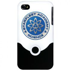 Star Trek Starfleet Academy Science iPhone 4 Case   Star Trek Shop ... wish they had this in my smartphone type... *sighs dramatically*