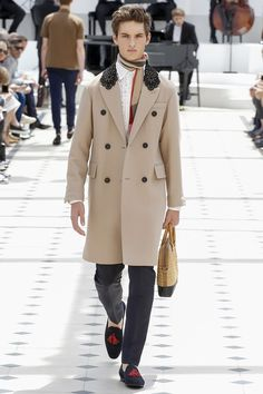 Burberry Prorsum spring/summer 2016 menswear collection