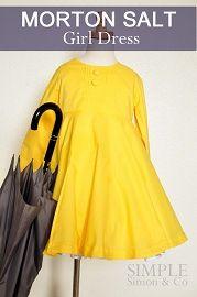 Free pattern: Morton Salt girl dress | Sewing | CraftGossip.com