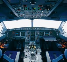 A330 Flight Deck