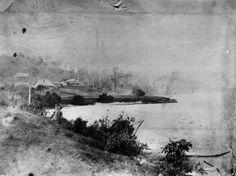 Early view of Hamilton Brisbane 1868