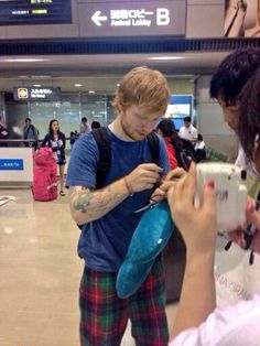 Sweggy pants there Ed