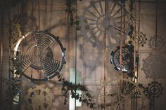 intricate gear backdrop