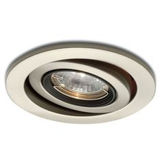 A more recently popular model of recessed lighting mounts the light source itself on a gimbal, allowing for directional lighting that can be arranged in groups to highlight walls, dining tables, or any specific aspect of a room that you prefer.