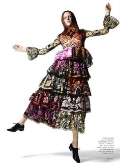 visual optimism; fashion editorials, shows, campaigns & more!: euro: georgia hilmer by liz collins for us elle january 2015