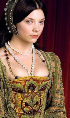 Natalie Dormer. I thought she was perfect for Anne Boleyn in the The Tudors and she was ever so lucky to star next to Jonathan  Rhys Meyers' King Henry VIII. Yes I am jealous.