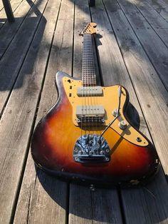 Fender Electric Guitar, Cool Guitar, Madness, Jazz, Music Instruments, Vintage, Guitars, Studio, Musica