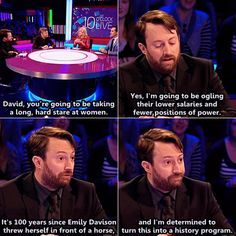 10 o'clock live best news show around. Have I mentioned how much I adore David Mitchell lol