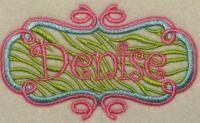 Zebra Frame Embroidery Designs | Apex Embroidery Designs, Monogram Fonts  Alphabets