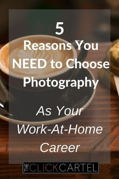 Not sure you can make good money from home? Or trying to decide which WAH opportunity is for you? Read the 5 reasons it's the perfect WAH career from a 6-figure photographer. #wahmom #photography