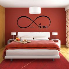 Couple room ideas couple room decoration black and grey bedroom ideas popular couples bedroom decor buy Black And Grey Bedroom, Bedroom Red, Bedroom Murals, Woman Bedroom, Small Room Bedroom, Red Bedroom Design, Master Bedroom, Glam Bedroom, Diy Home Decor Rustic