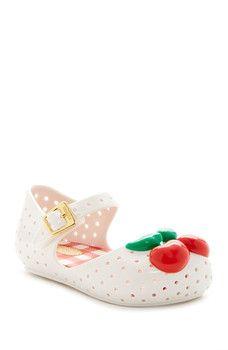 MELISSA FOOTWEAR - Mini Furadinha lll Cherry Mary Jane (Toddler)