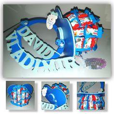 Suzetă din dulciuri handmade July 9th, Handmade, Sweets, Hand Made, Handarbeit