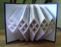 Hey, I found this really awesome Etsy listing at https://www.etsy.com/listing/155567109/folded-book-artupcycled-book-artfolded
