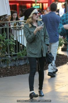 Brittany Snow out shopping with a friend http://www.icelebz.com/events/brittany_snow_out_shopping_with_a_friend/photo1.html