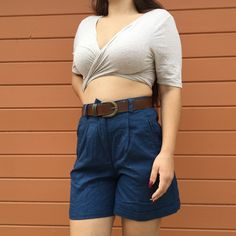 7693b900 Adorable ass vintage high waisted shorts from the 60s flaws - Depop Vintage High  Waisted Shorts