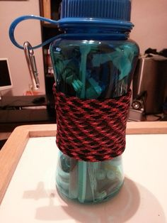 25Piece Survival Kit in a Water bottle by KelseysEssentials, $19.99