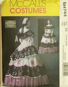 Civil War Dress by Nancy FarrisThee  McCall's by patterntreasury, $42.95  I want to make one of these!